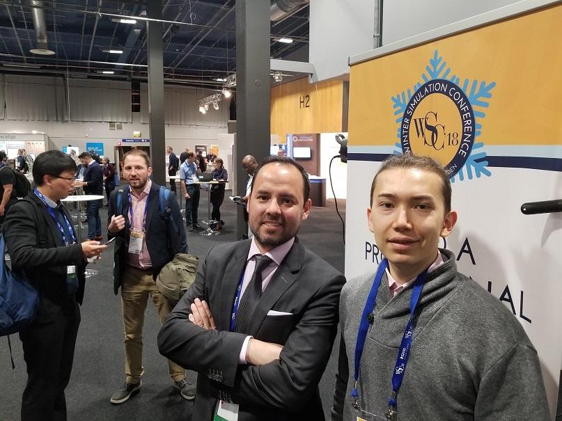 Profesor y alumno del DII participaron del Winter Simulation Conference