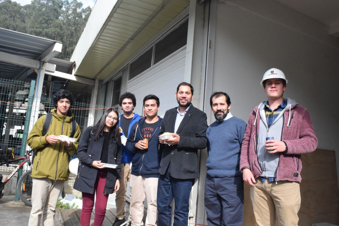 Bienvenida a estudiantes de primer año de Ingeniería Civil