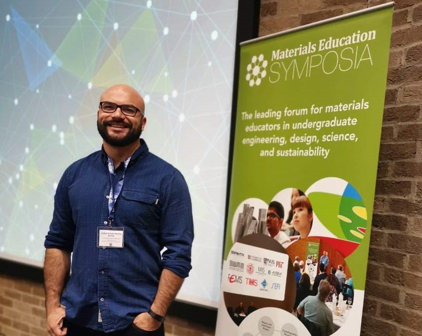 Académico Carlos Medina efectuó visita a Universidad de Cambridge, U.K.
