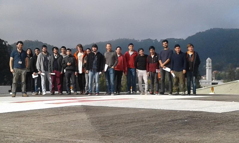 Alumnos de Ingeniería Electrónica efectuaron visita técnica al Hospital Regional