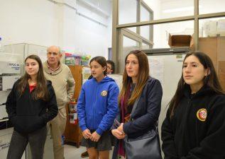 Estudiantes del Colegio Alemán de Concepción visitaron el DIQ