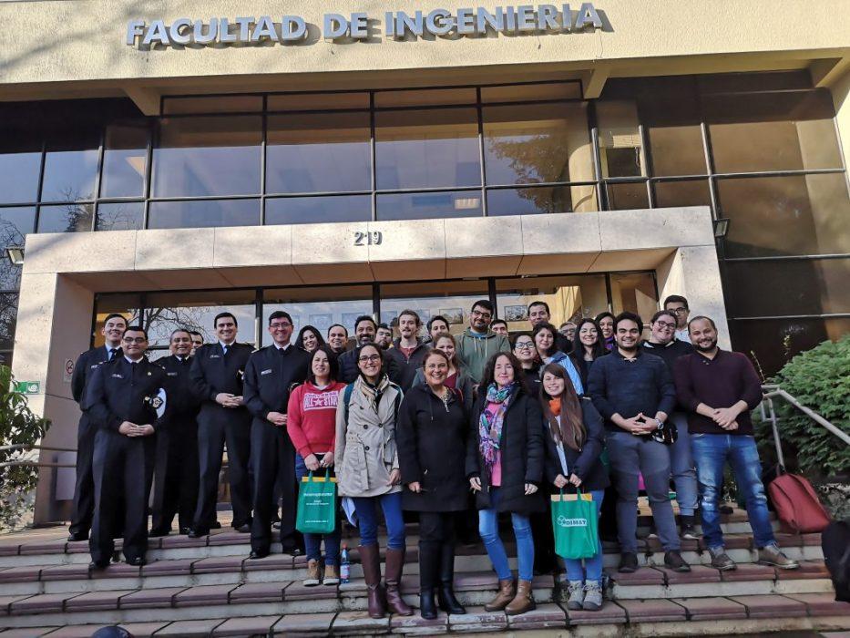 Corrosión microbiológica reunió a especialistas, alumnos y profesionales en torno al tema