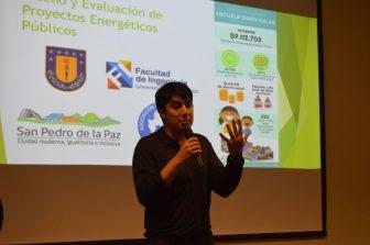Estudiantes de Ingeniería Civil Mecánica efectuaron proyectos energéticos para establecimientos educacionales