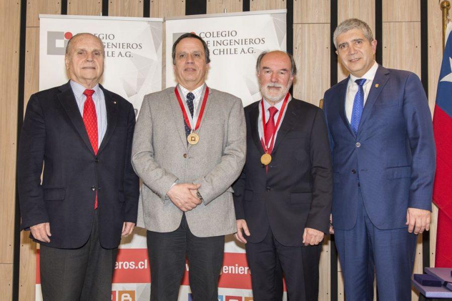 Colegio de Ingenieros de Chile entregó Premio Nacional 2019 a la Facultad de Ingeniería UdeC