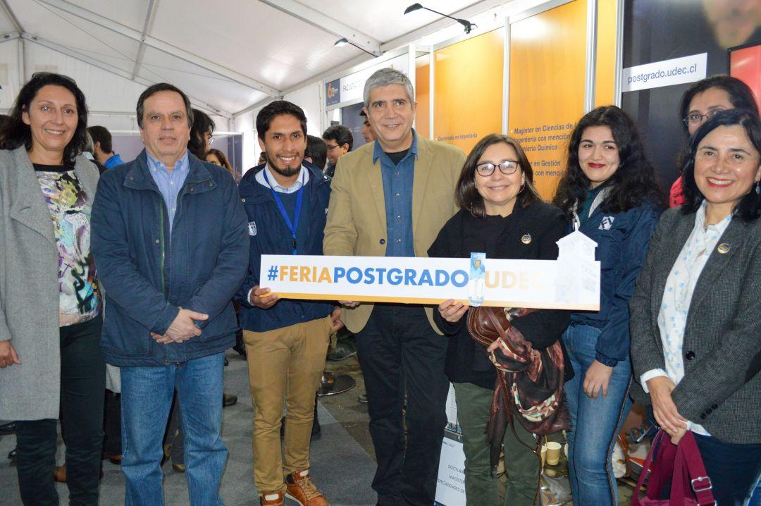 FI estuvo presente en la 6ta Feria de Postgrados UdeC