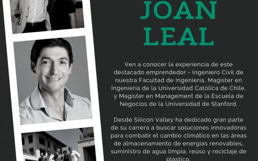 Charla Joan Leal, emprendedor de Silicon Valley