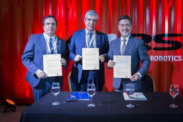 High Service Corp. lanza inédito robot para minería y firma convenio con la Universidad de Concepción