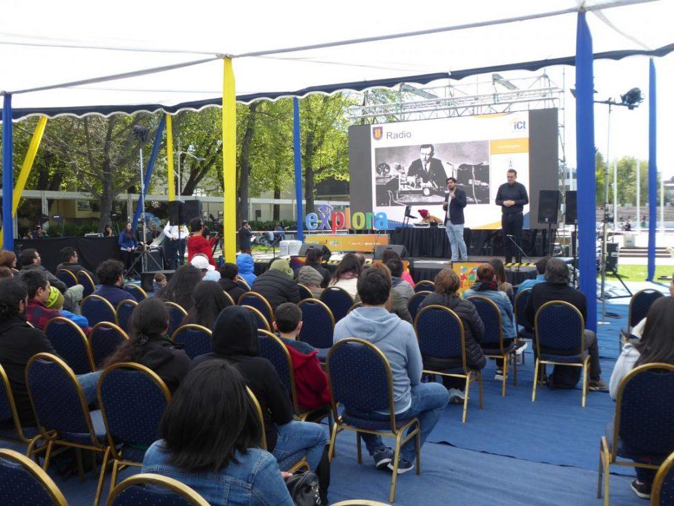 Telecomunicaciones UdeC participa en Conce de Ciencias