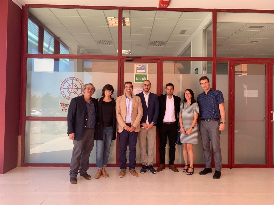 Académico FI UdeC presidió tribunal de tesis doctoral de la U. de Huelva en España