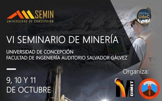 VI Seminario de Minería