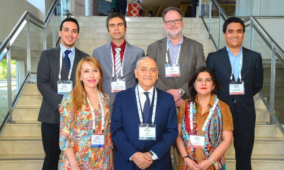 "Leopoldo Gutiérrez, docente FI, expuso en ""Procemin-Geomet 2019"""
