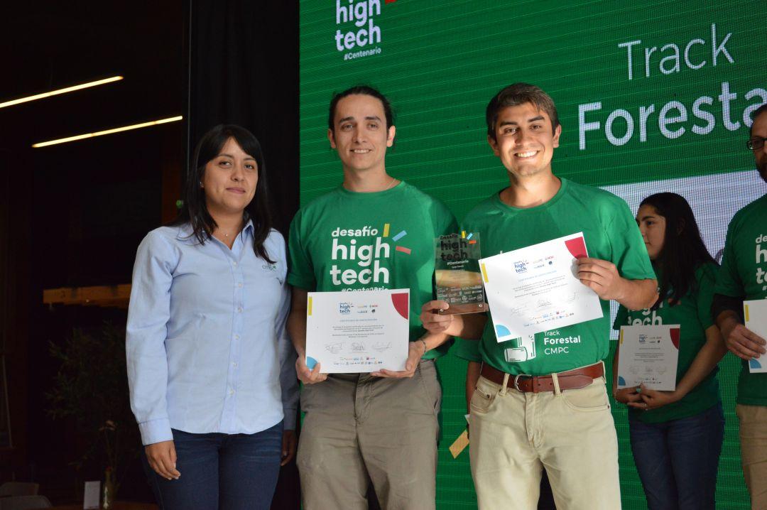 Equipo de la FI UdeC ganó track forestal del Desafío High Tech Centenario