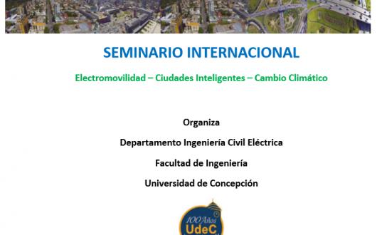 Seminario Internacional Electromovilidad–CiudadesInteligentes–CambioClimático