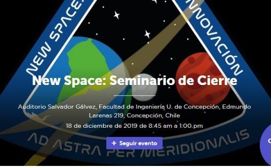 New Space: Seminario de Cierre