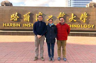 Académicos de la Facultad de Ingeniería de la UdeC y de la UCSC realizan workshop en China sobre proyecto de manejo de desastres