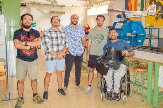 Con una nueva silla fabricada por ingenieros UdeC el paracanotista Robinson Méndez se enfoca en Tokio 2020