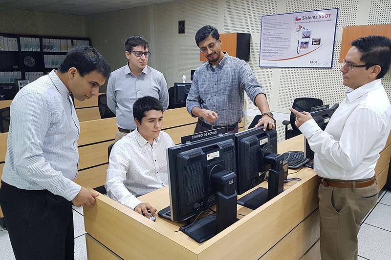 Estudiantes de Aeroespacial ponen en práctica sus conocimientos en la FACH