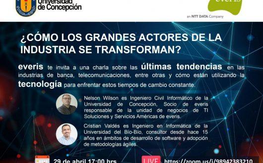 Charla Online ¿Cómo los grandes actores de la industria se transforman?
