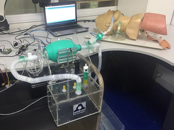 Dispositivo de asistencia ventilatoria de ingenieros UdeC y Asmar fue preseleccionado para validación técnica