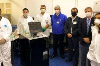 Dispositivo de ventilación mecánica UdeC-Asmar recibe aprobación técnica