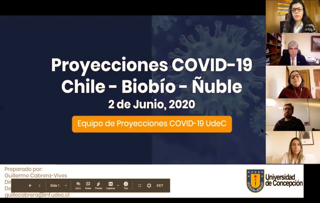 Estimaciones de comportamiento del Covid-19 serán entregados semanalmente