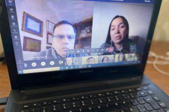 Reencuentro del personal no académico en actividad online