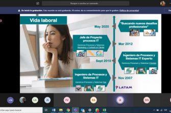 Con interesantes charlas virtuales en diferentes temas el DIICC sigue fortaleciendo el vínculo con sus estudiantes