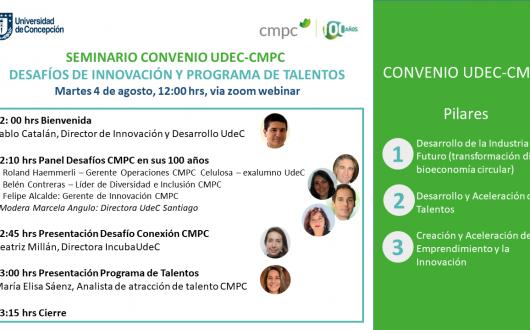 Seminario Web Convenio UdeC-CMPC