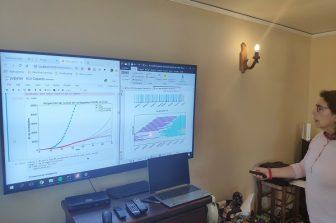 Investigadores continúan apoyando la gestión de la pandemia por COVID-19 con simulaciones computacionales en el Hospital Guillermo Grant Benavente