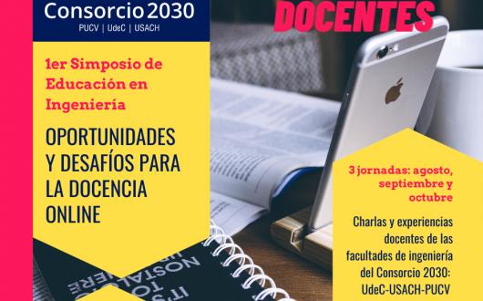 """1er Simposio: """"Oportunidades y Desafíos para la Docencia Online"""""""
