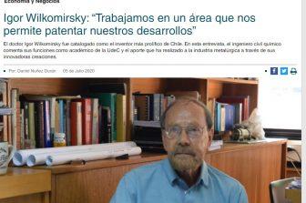 Entrevista a Igor Wilkomirsky por su investigación en minería