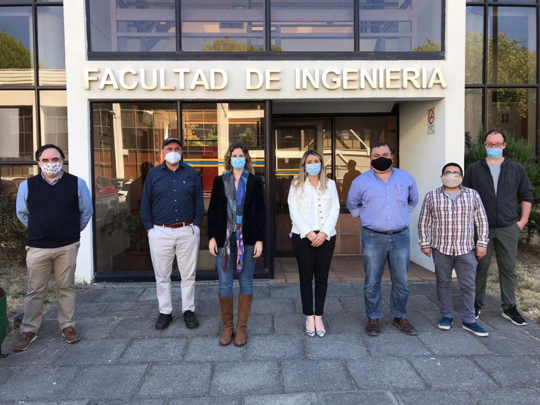 Laboratorio del DIE fue visitado por subsecretaria del Ministerio de Ciencias, Tecnología, Conocimiento e Innovación