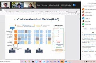 FI UdeC capacita a docentes de la UACh Sede Puerto Montt en evaluación de competencias