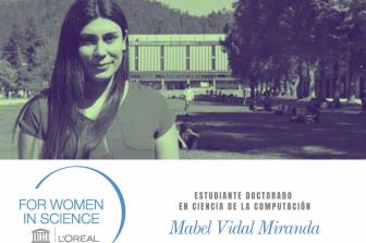L'Oréal Chile – UNESCO For Women in Science 2020 es para Mabel Vidal, estudiante de Doctorado de Ingeniería UdeC