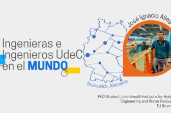 Ingenieras e Ingenieros UdeC en el Mundo: José Ignacio Aliaga Villagrán