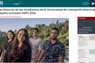 Ingenieras e ingenieros FI UdeC detrás del Desafío Conexión CMPC 2020