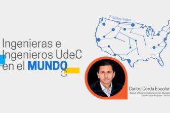 Ingenieras e Ingenieros UdeC en el Mundo: Carlos Cerda Escalona