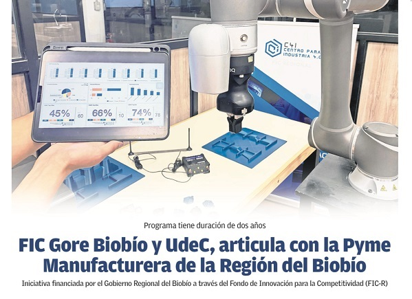 FIC Gore Biobío y UdeC articulan con la Pyme Manufacturera de la Región del Biobío