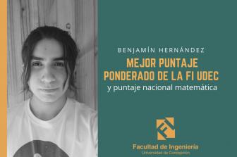 Entrevista a Benjamín Hernández de Ingeniería Civil