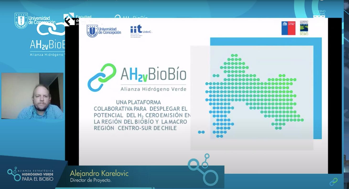 UdeC lanza proyecto que busca desplegar el potencial en H2 verde de la región financiado por el Gore Biobío