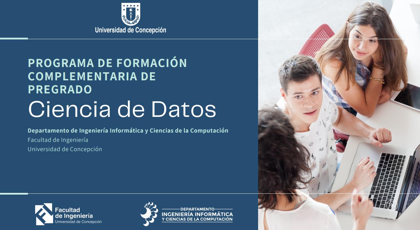 """DIICC imparte primer """"Programa de Formación Complementaria"""" en Ciencia de Datos para estudiantes de la UdeC"""