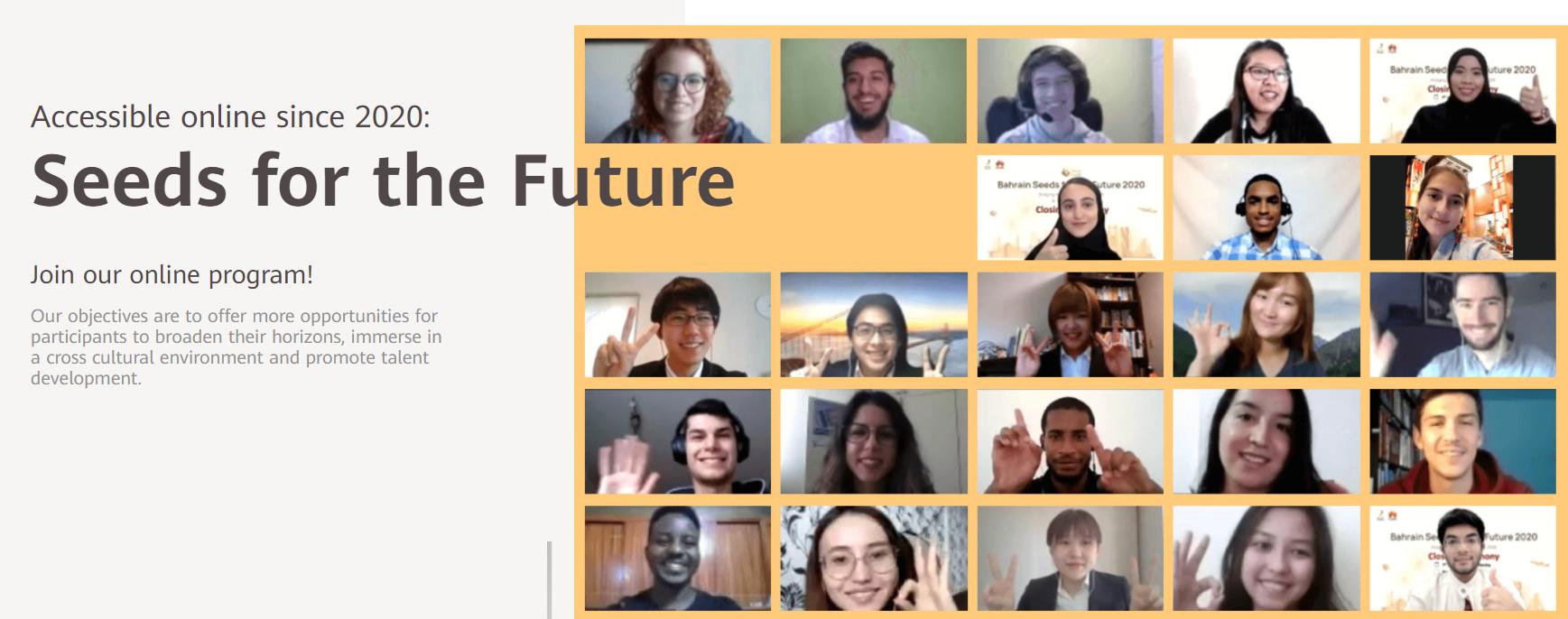 """Ya están abiertas las postulaciones a """"Seeds for the Future 2021"""""""