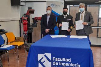 Investigación, transferencia tecnológica y formación de ingenieros serán potenciados gracias a convenio Arsenal Naval de Talcahuano y UdeC
