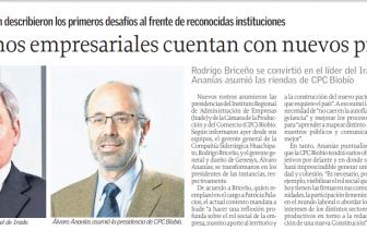Exalumnos FI UdeC lideran importantes gremios de la Región del Biobío