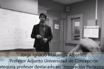 Jorge Maluenda obtiene segundo lugar como profesor más innovador a nivel Latinoamericano