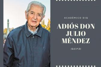 Lamentable pérdida de Don Julio Méndez (Q.E.P.D)