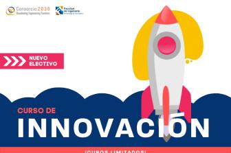 Estudiantes de todas las especialidades de ingeniería podrán inscribir curso de Innovación (cupos limitados)