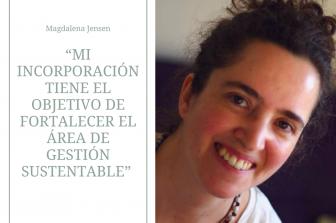 Magdalena Jensen se suma al cuerpo académico del Departamento de Ingeniería Industrial
