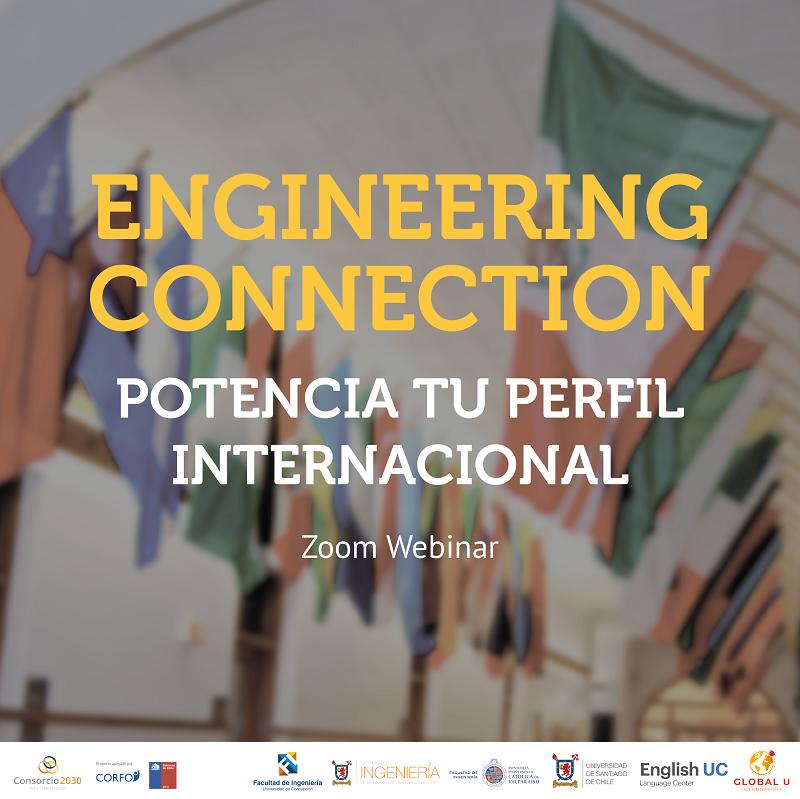 """Estrategias para estudiar y trabajar en el extranjero fueron centrales en nuevo ciclo de """"Engineering Connection"""""""