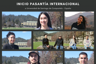 Estudiantes de Ingeniería Civil Química inician pasantía internacional en la U. de Santiago de Compostela